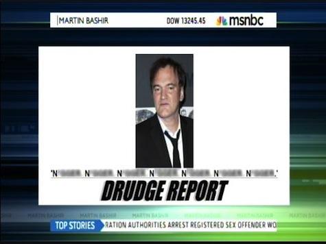 MSNBC Attacks Drudge: 'Race Baiter,' Puts President in Danger
