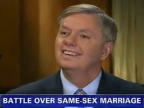 Sen. Graham: Marriage Equality Requires Constitutional Amendment, Like Ending Slavery