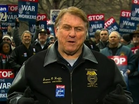 Teamsters President Warns of Brewing 'Civil War' in Michigan