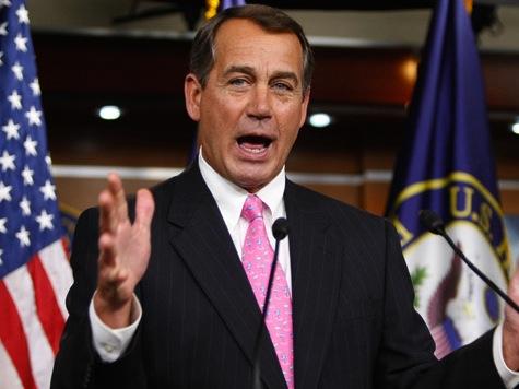 Boehner: I'm Not Concerned About My Job