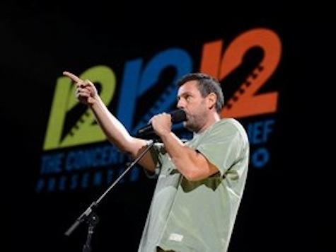 'Sandy, Screw Ya!' Adam Sandler's Awesome Performance at 12-12-12 Benefit Concert