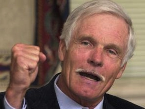Ted Turner, Prodded by CNN, Calls for Nuclear Disarmament, Says 'War Is Just About Over With'
