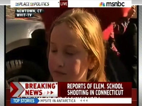 Police Respond to Elementary School Shooting Report in Newtown, Conn.