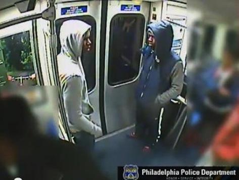 Trash-talking basketball fans open fire inside subway car