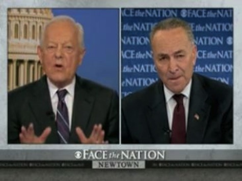 Sen. Chuck Schumer: The Left Must 'Admit There Is A Second Amendment Right To Bear Arms