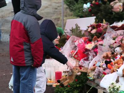 Funeral services for 2 Newtown, Conn. children