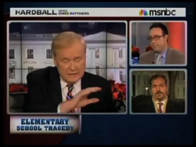 Chris Matthews Laments 'Tea Party' Thinking On Gun Issues