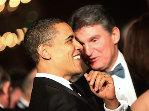 President 'On The Phone' With Sen Manchin To Discuss Gun Control Laws