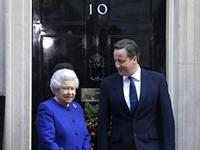 Queen Elizabeth Attends Cabinet Meeting