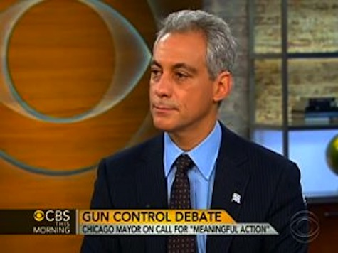Norah O'Donnell Confronts Rahm For Telling Eric Holder To 'Shut Up' About Assault Weapons