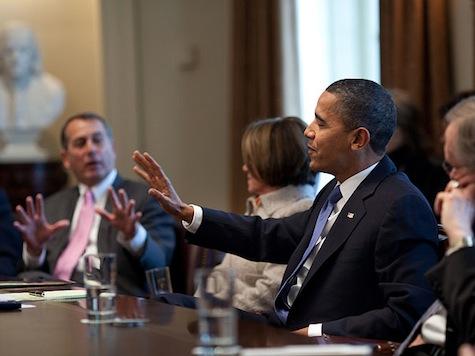Obama: GOP Needs To Take Off 'Partisan War Paint'