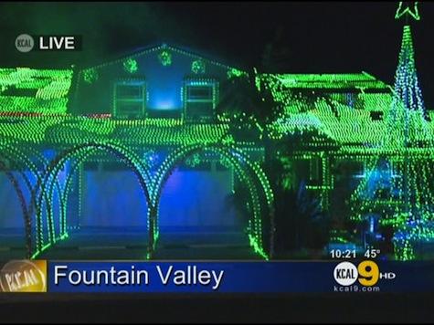 Woman's 65K Christmas Lights Angers Neighbors