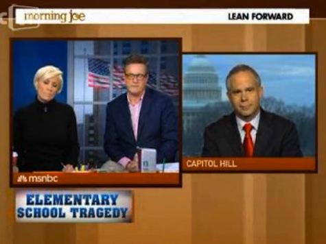 Scarborough To Congressman 'Do You Dare Come On My Show' And Say I'm Politicizing Newtown?
