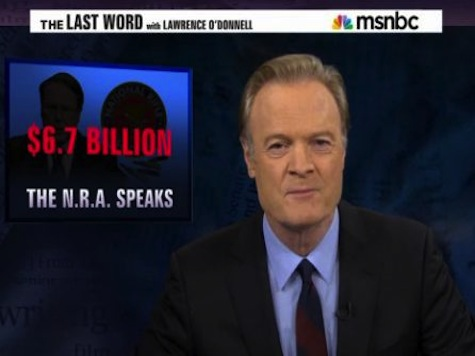 Lawrence O'Donnell: NRA Chair 'Lobbyist For Mass Murderers'