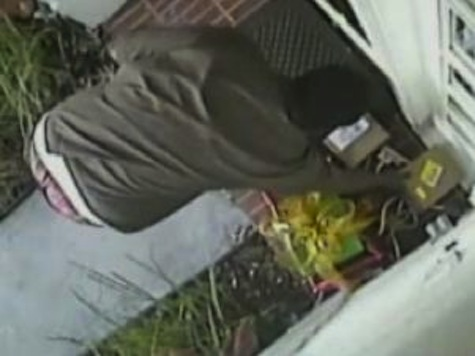 UPS Guy Steals Fed Ex Package With iPad