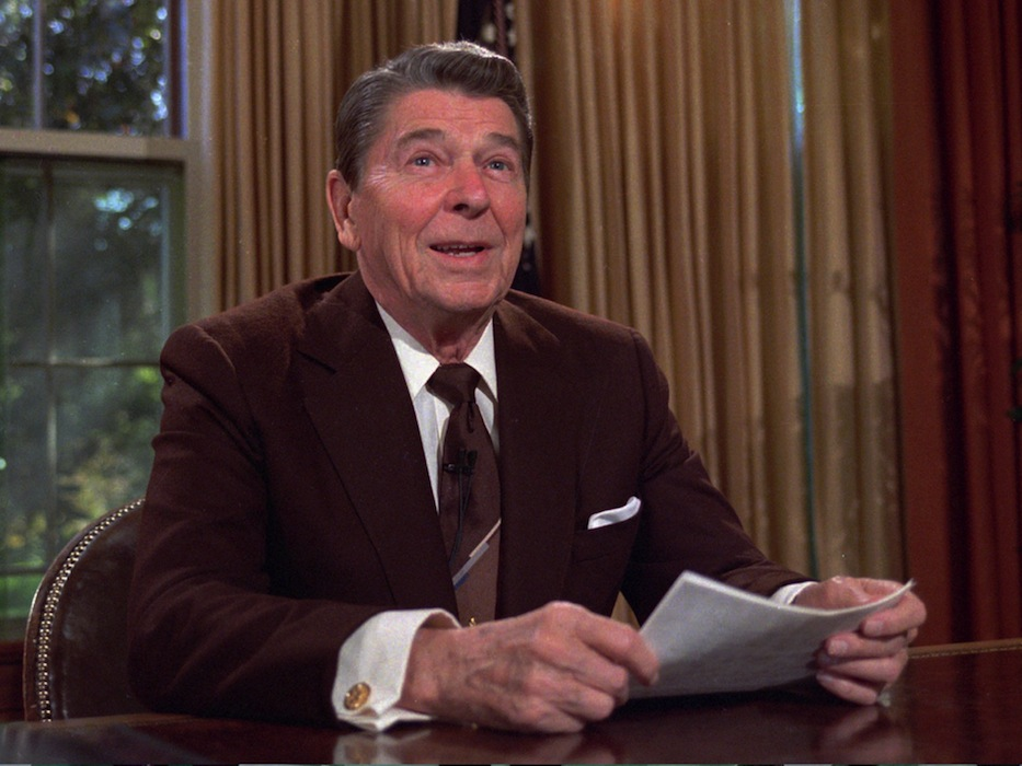 Merry Christmas From Ronald Reagan