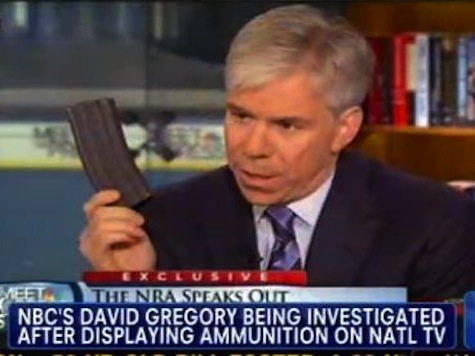 Police Investigating David Gregory For Brandishing Large Capacity Clip