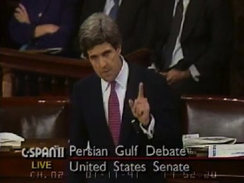 FLASHBACK: Kerry Voted Against Gulf War, Proposed Multilateral 'New World Order'