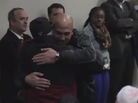 Vanderbilt Coach Stops Press Conference To Hug Fan