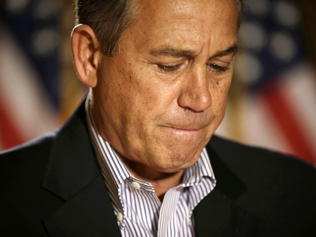 Boehner Chokes Up During Opening Speech To Congress