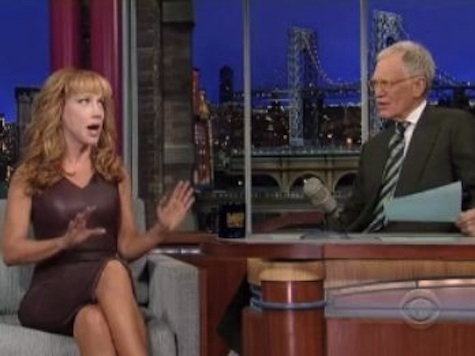 Kathy Griffin Brags About 'Going Down' On Anderson Cooper