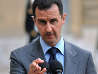 Assad Calls On Syrians To Defend Country