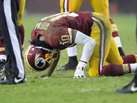 Redskins Coach Under Fire For Playing RGIII