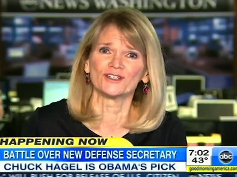ABC's Martha Raddatz: Hagel 'Perfect Choice' Because He 'Dared' To Oppose Troop Surge