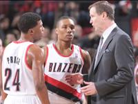 Portland Blazer's Coach Shares Secret Of Over Time