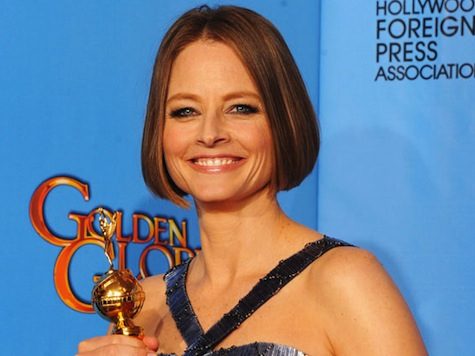 Jodie Foster Comes Out (Sort Of) At Golden Globes