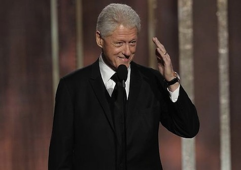 Bill Clinton Introduces 'Lincoln' at Globes