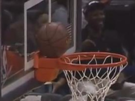 Watch: Most Amazing Half-Court Shot You'll Ever See