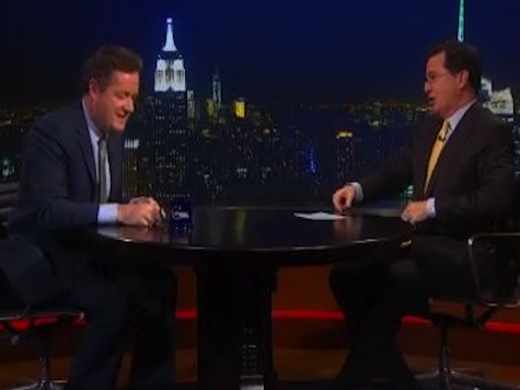Colbert to Piers Morgan: 'Get The F**K Out of Dodge'
