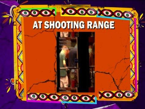 Justin Bieber Goes To Gun Range