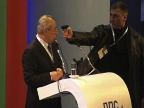 Shocking Point Blank Assassination Attempt on Bulgarian Opposition Leader