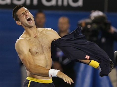 Djokovic Wins Epic Five-Setter