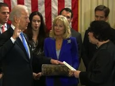 Biden Sworn In For Second Term