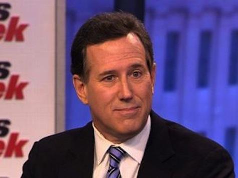 Rick Santorum: President Obama is a 'Sore Winner'