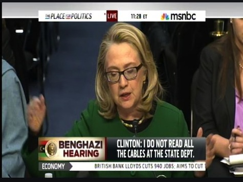 Sec Clinton Lashes Out: 'What Difference Would It Make' About Rice's Talking Points
