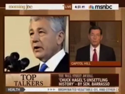 Senator Barrasso: 'I Just Have Significant Reservations About Chuck Hagel'