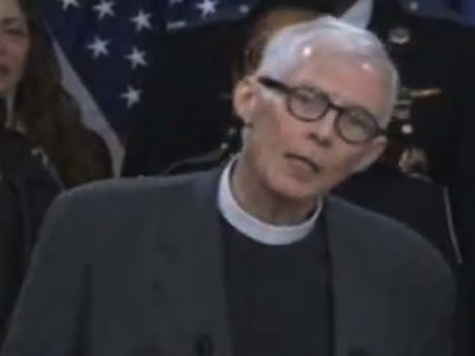 Pastor Opens Up Assault Weapons Ban Presser: 'I Believe The Gun Lobby Is No Match For The Cross Lobby'