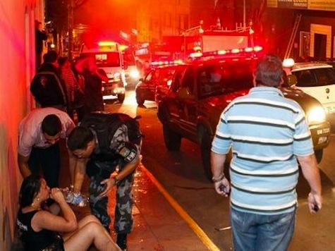 At Least 232 Dead in Smoke, Stampede in Brazil Club Fire