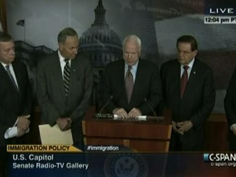 McCain: Immigration Reform Same As Senator Kennedy's Plan