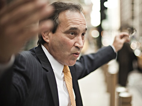 WATCH: Santelli, Lib Economist Have Screaming Match Over GDP