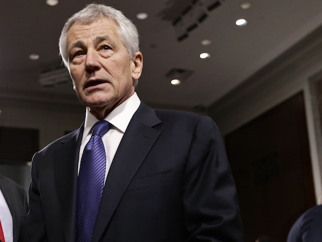 Hagel's Disastrous Hearing Ought to Make 'No' Vote a No-Brainer