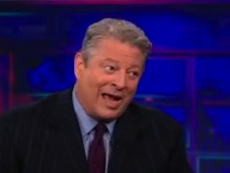 Jon Stewart Challenges Angry Al Gore Over Sale Of Current TV