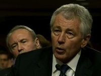 Hagel: Because Israel 'Chained Down' Palestinians, They Use 'Tactic' Of Terrorism
