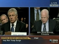 McCain Grills Hagel For Refusing To Answer Question