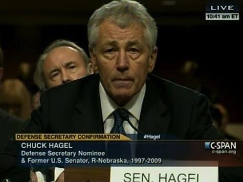 Hagel: 'My Record Is Consistent'