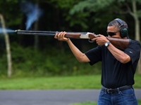 O'Reilly: Obama Skeet Shooting Photo: Looks Like A 'Brochure For Welcome To Chicago'